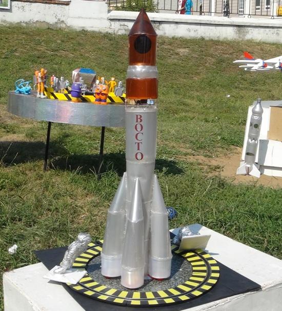 Ракета из бутылки  мастер класс