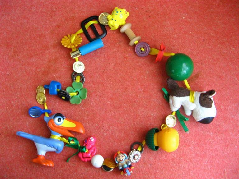 Развивающие игрушки своими руками дети до года
