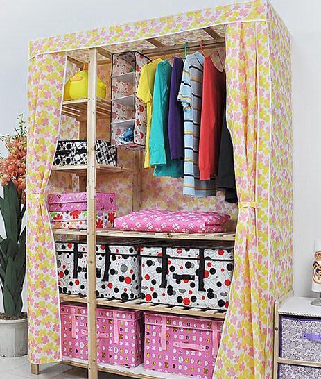 Как сделать шкаф из ткани своими руками 37