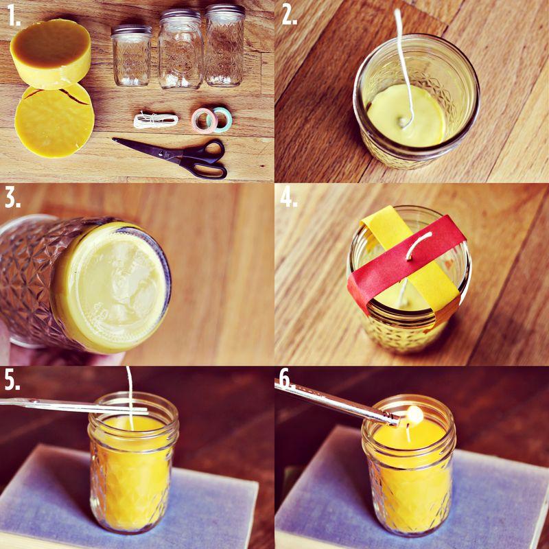 Как в домашних условиях сделать восковую свечу в домашних условиях