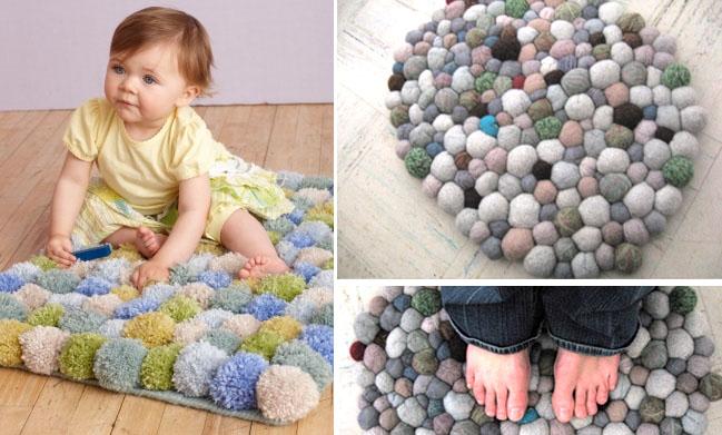 Коврики из шариков своими руками 585