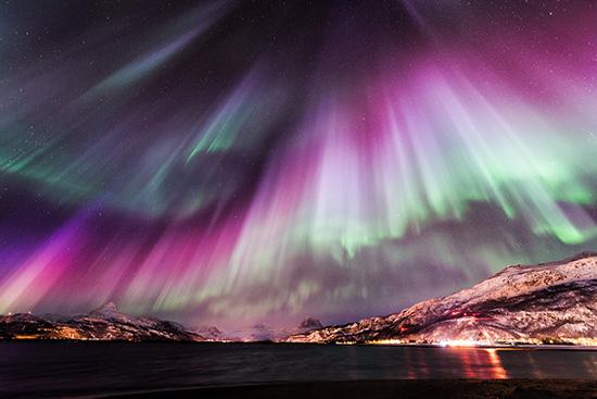 Как в фотошопе создать северное сияние