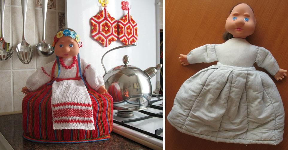 Как сшить куклу на чайник своими руками  726