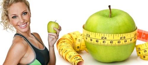Как похудеть на воде и яблоках