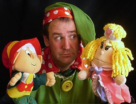 Кукла фото на руку для театра