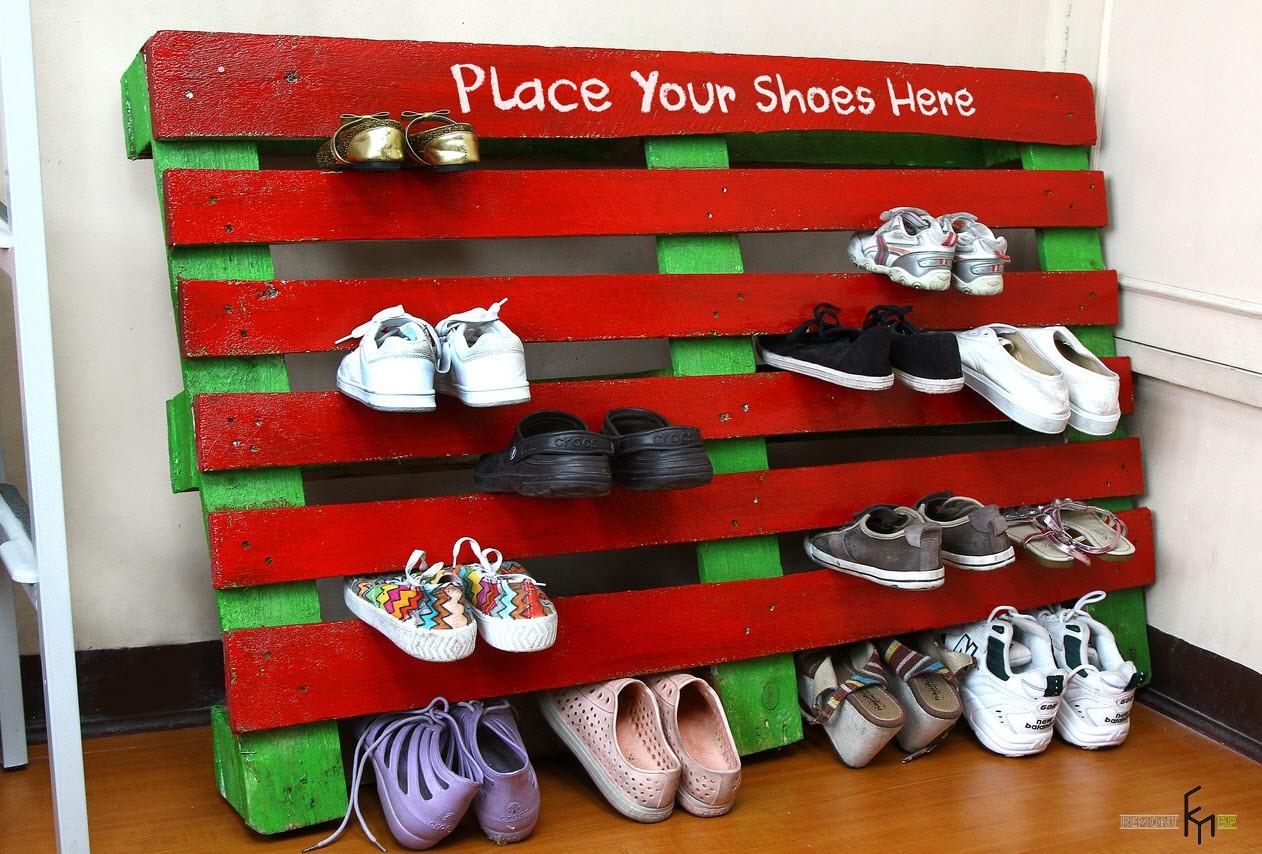 Сделать полочку своими руками для обуви