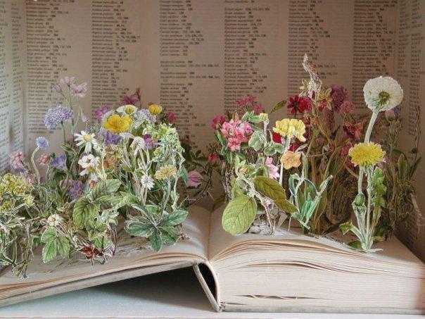 Поделки из книги
