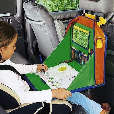 Выкройка органайзера в машину для детей