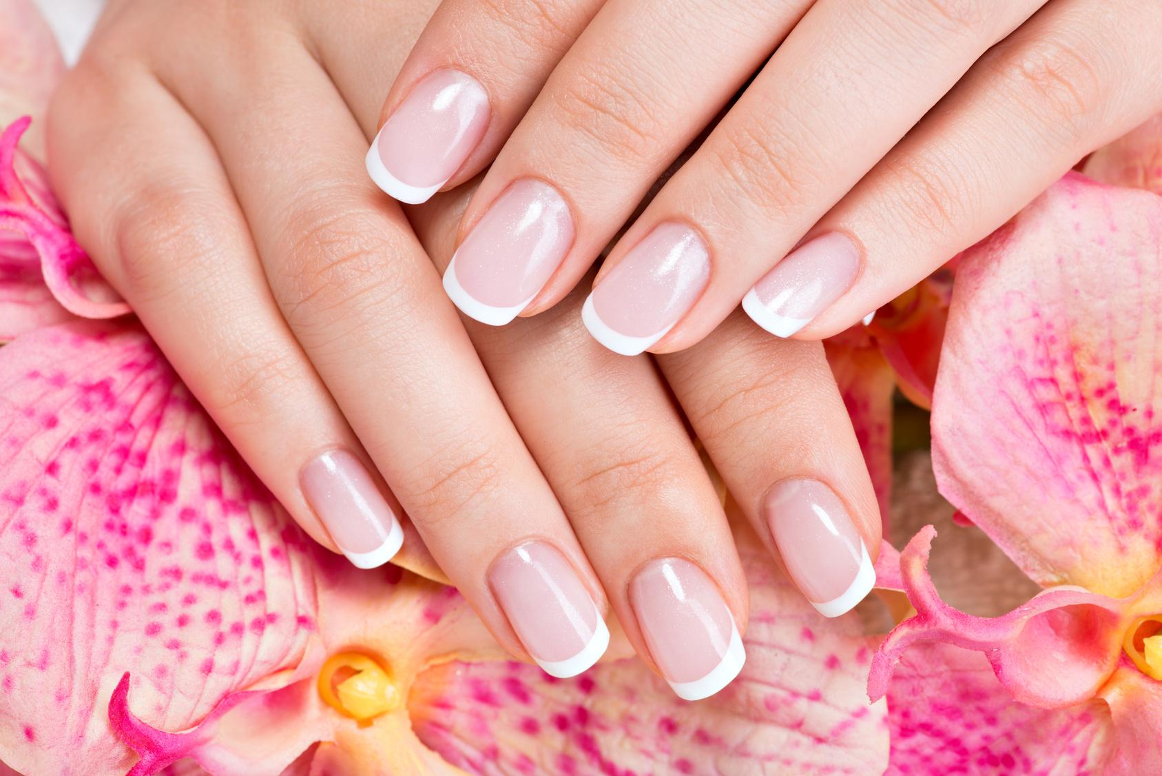 Фото самые красивые ногти с френч наращиванием