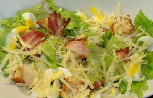 Рецепты теплых салатов с