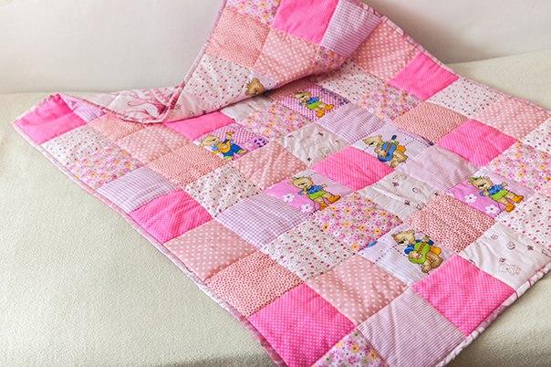 Детское одеяло сшить для девочки