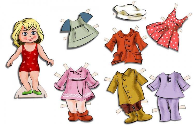 Одежда рисунки своими руками для детей