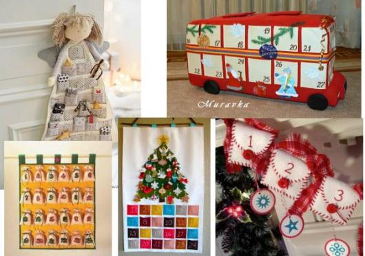 c432555ae898 Адвент-календарь (рождественский календарь, календарь ожидания) - это  давняя славная традиция, с помощью которой можно скрасить ожидание самого  интересных и ...