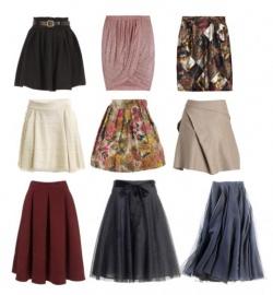 Тип фигуры прямоугольник юбка