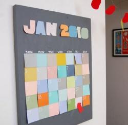 Фото-календари своими руками