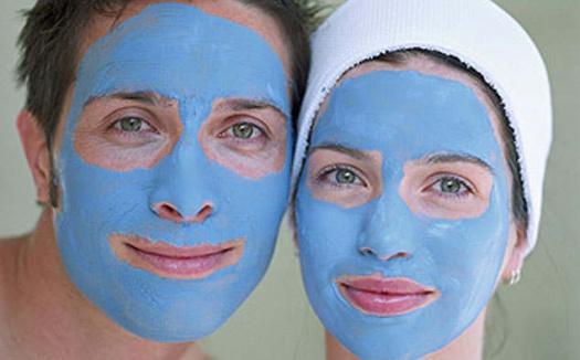 Голубая глина для лица в домашних условиях