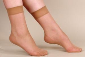 фото пальцев ног в капронавых насках