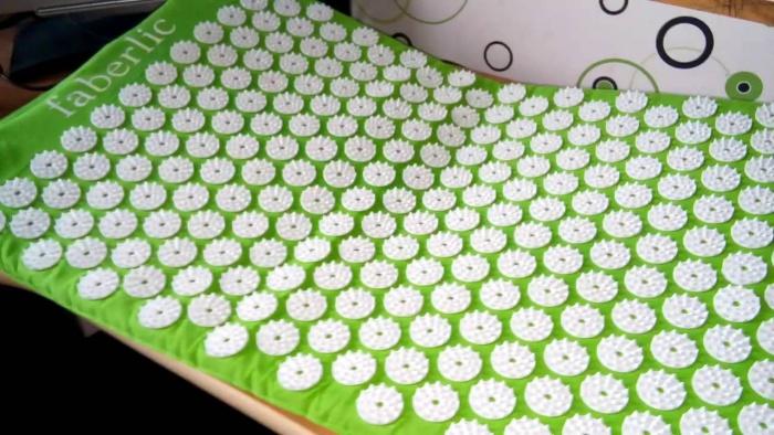 Акупунктурный массажный коврик фаберлик отзывы