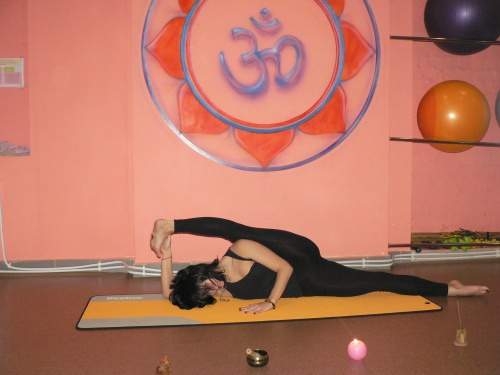Йога в городе губкин