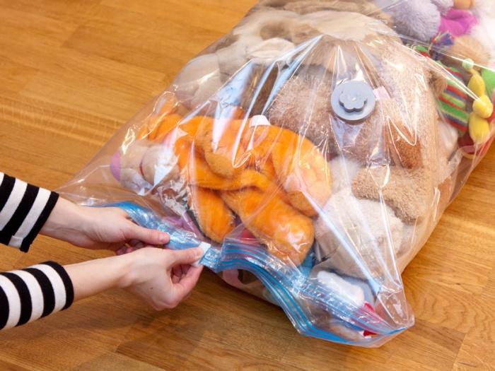 Размеры вакуумных пакетов для одежды