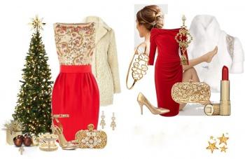 Какие платья выбрать на новый год