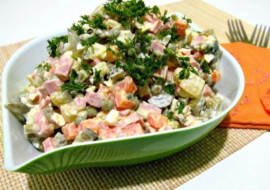 Рецепт салата оливье классический с фото пошагово