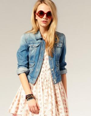 фото джинсовка женская